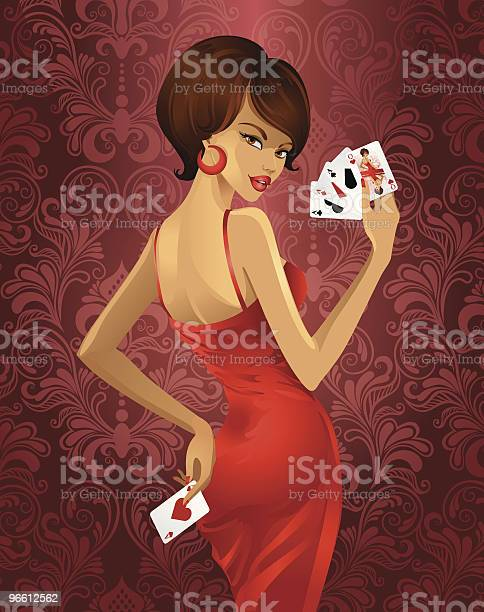 Luxo Jogo De Póquer - Arte vetorial de stock e mais imagens de Abrir em Leque