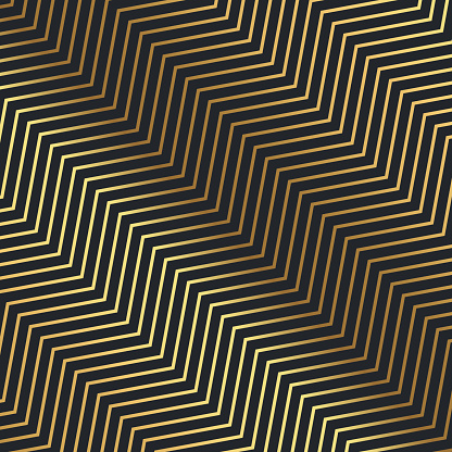 Luxury Gold Geometric Pattern Design Stock Illustration - Download Image Now