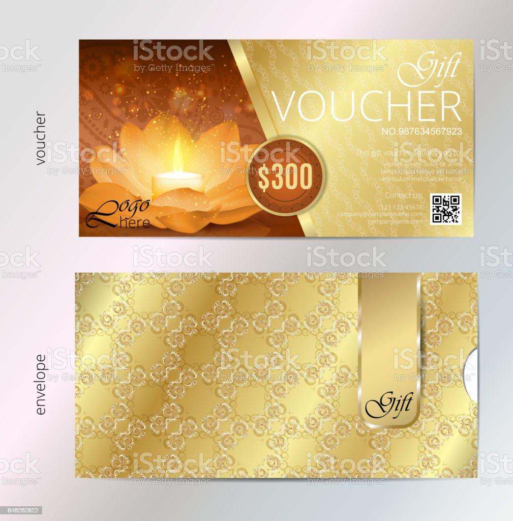 Luxus Golden Und Geschenkgutschein Für Festival Von Diwali Feiern ...