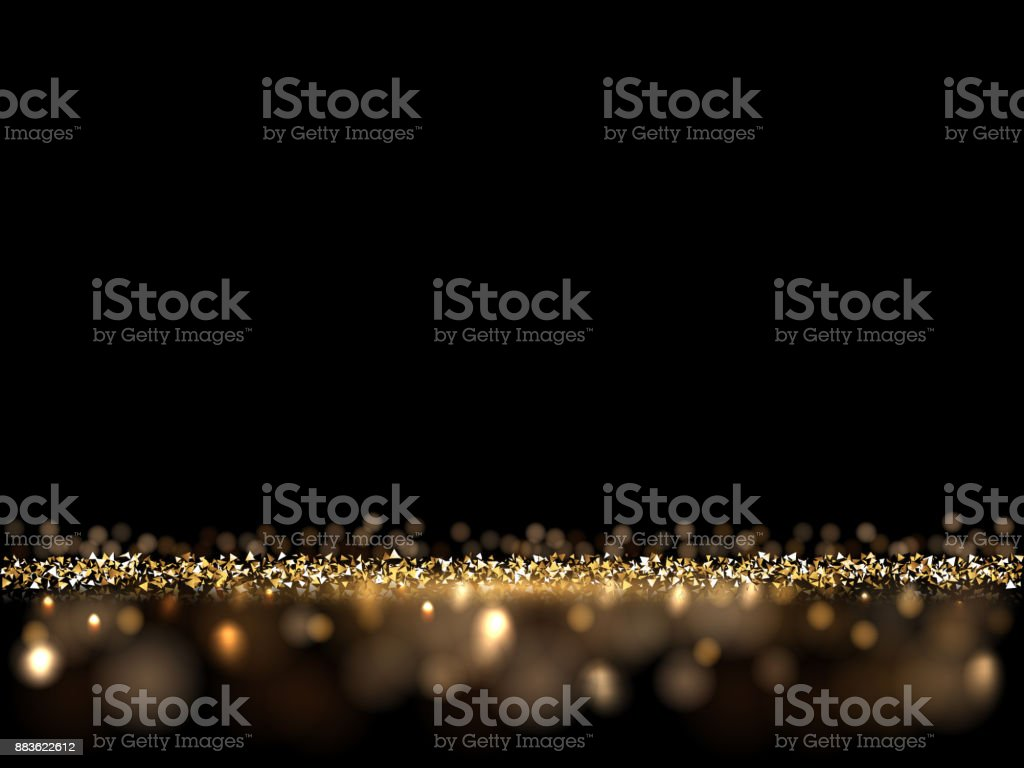 Luxury golden glittering dark background. Vector VIP background for posters, banners or cards. vector art illustration