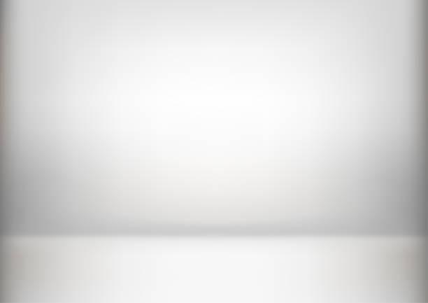 ilustraciones, imágenes clip art, dibujos animados e iconos de stock de fondo abstracto de lujo gris. moderno diseño, estudio, sala. informe de negocio con color degradado suave círculo. ilustración de vector - sólido