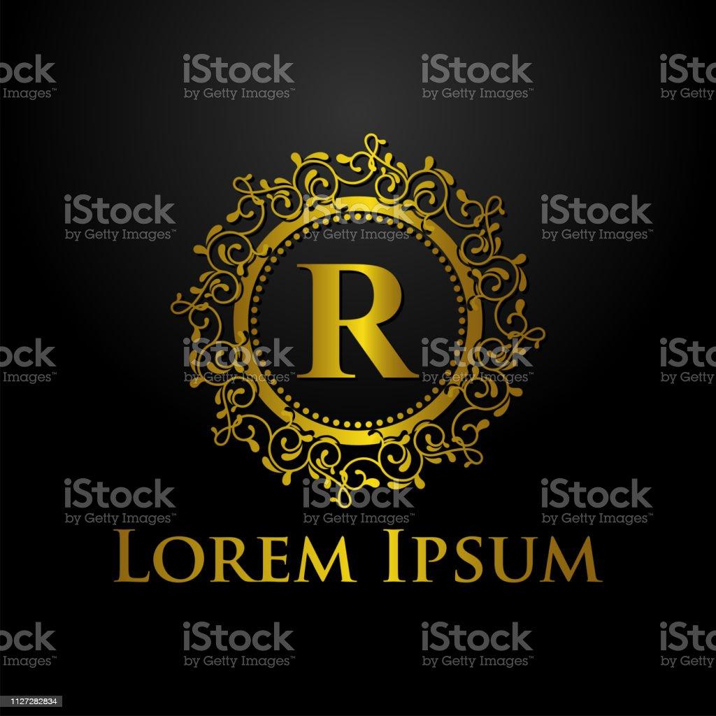 Luxury Logo Template Stock Illustration Download Image Now Istock