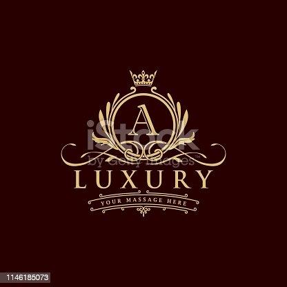 istock luxury logo 1146185073