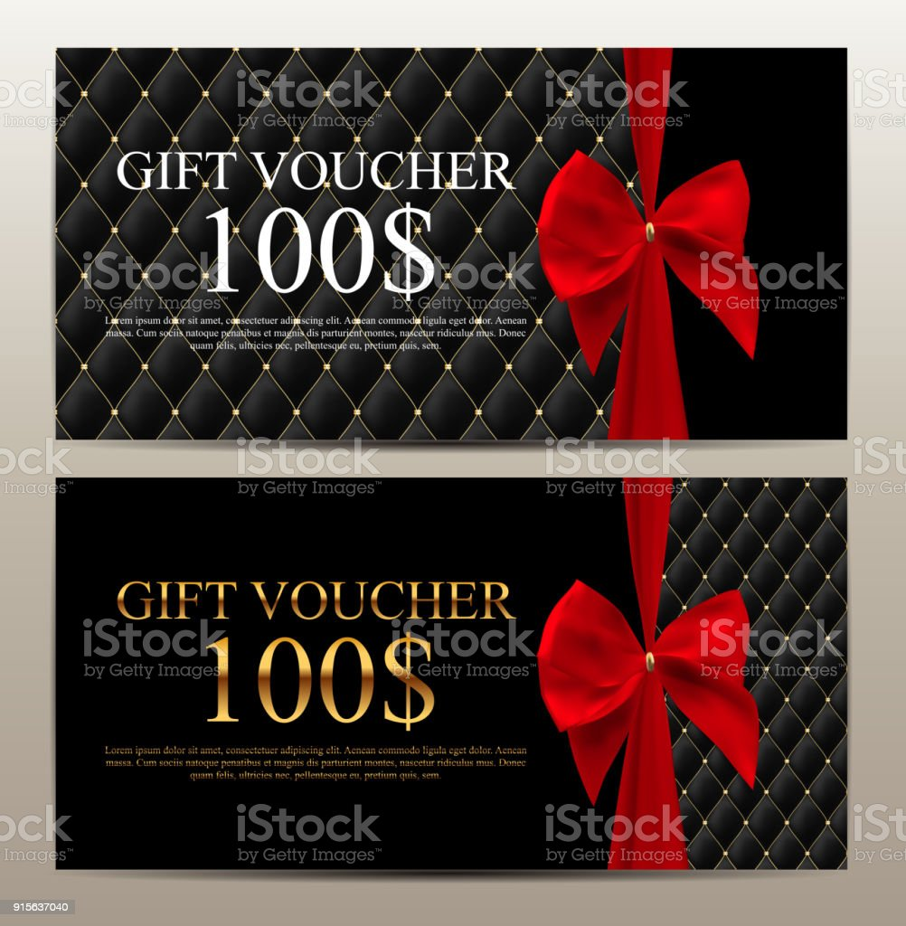 Luxury Members Gift Card Template For Your Business Vector ...