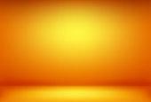 豪華なオレンジの抽象的な背景。ハロウィンのレイアウトデザイン、スタジオ、部屋。バナー、カードのための滑らかなグラデーションとビジネスレポート紙。ベクトルイラストレーション