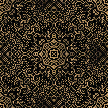 Luxury pattern frame