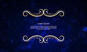 luxury pattern illustration stock illustration