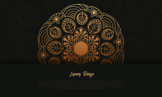 Luxury pattern illustration