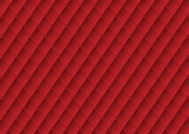luxus rote polster textur vektor abstrakten hintergrund - plüsch stock-grafiken, -clipart, -cartoons und -symbole