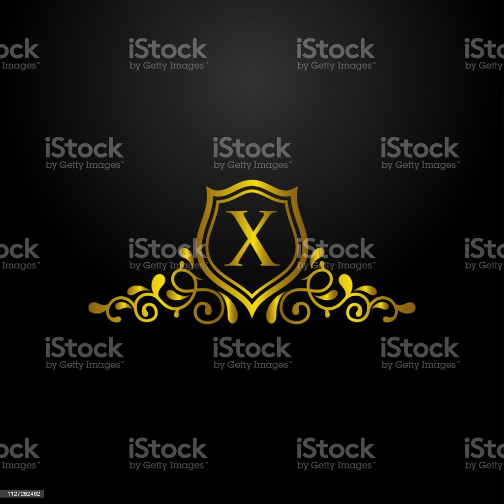 Luxury Shield Logo Stock Illustration Download Image Now Istock