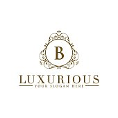 Luxury template sign/symbols in vector for Wedding, Restaurant, Royalty, Boutique, Cafe, Hotel, Heraldic, Jewelry, Fashion and other vector illustration