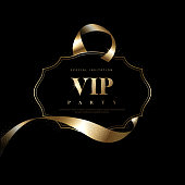 Luxury vip invitations and coupon backgrounds