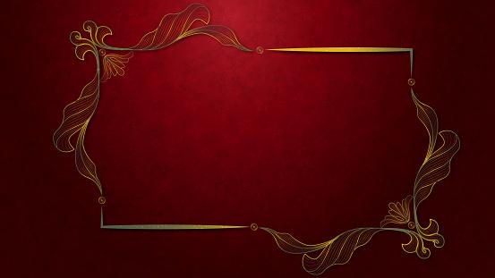 Luxury wedding invitation and Greeting card
