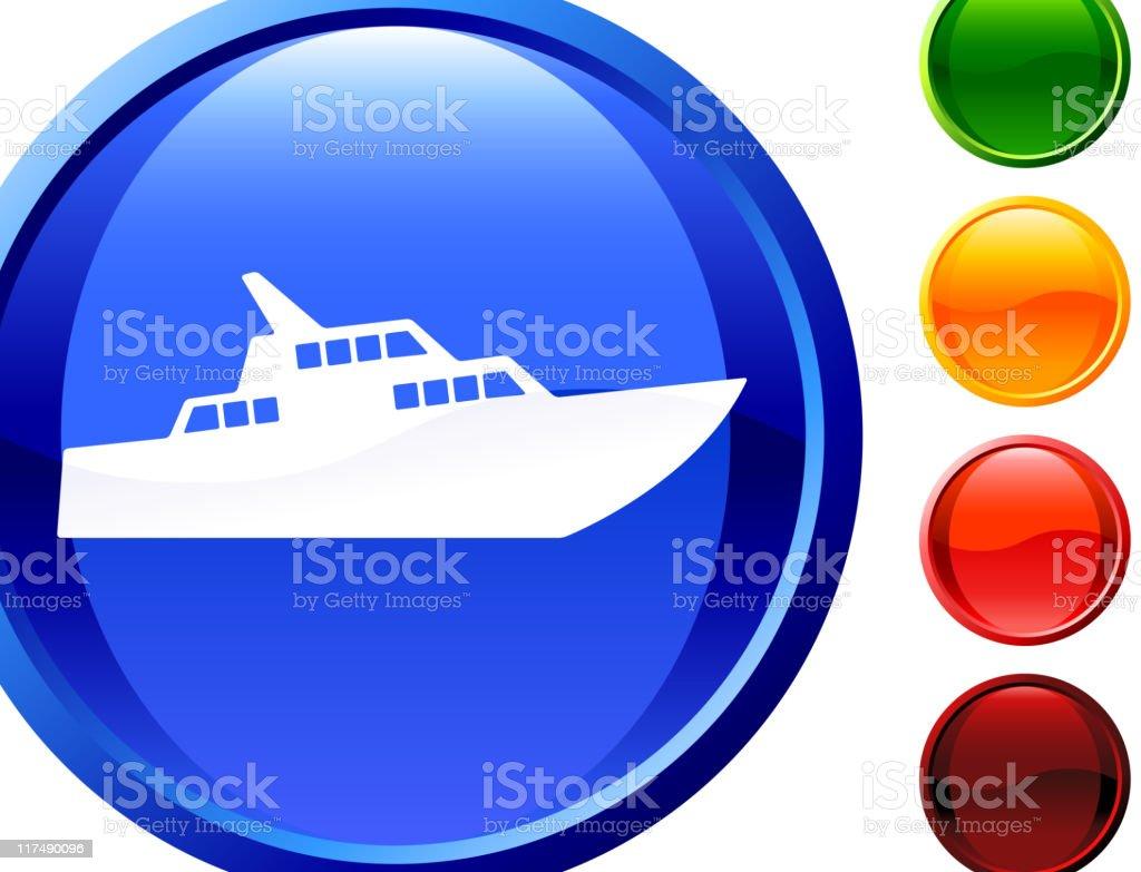 luxury yacht internet royalty free vector art royalty-free stock vector art