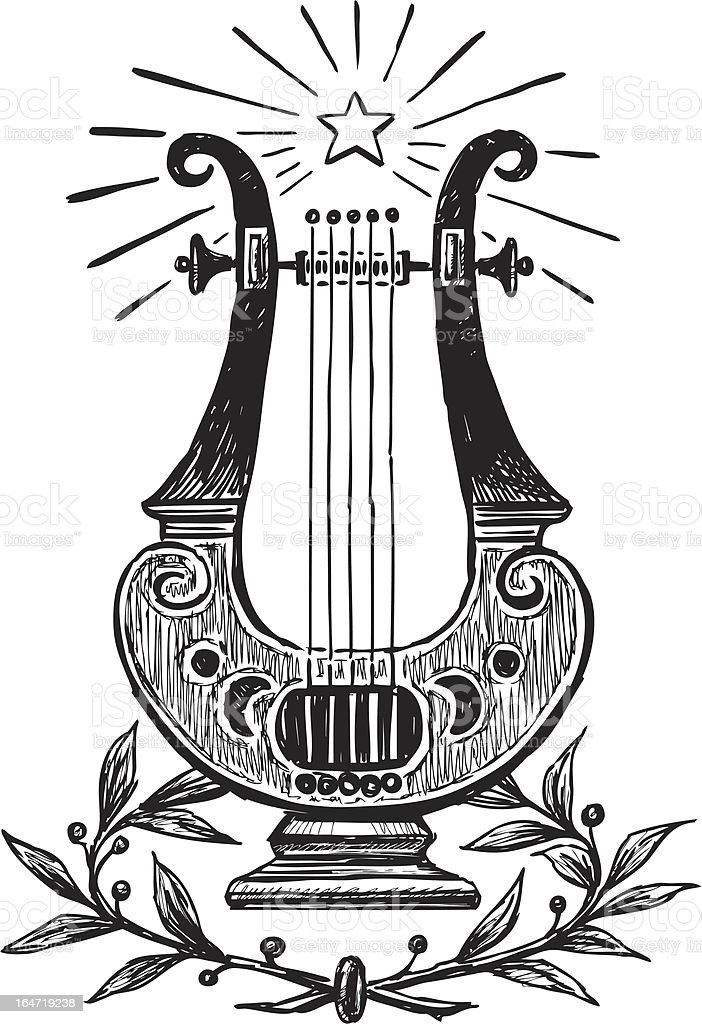 lyre royalty-free lyre stock vector art & more images of ancient