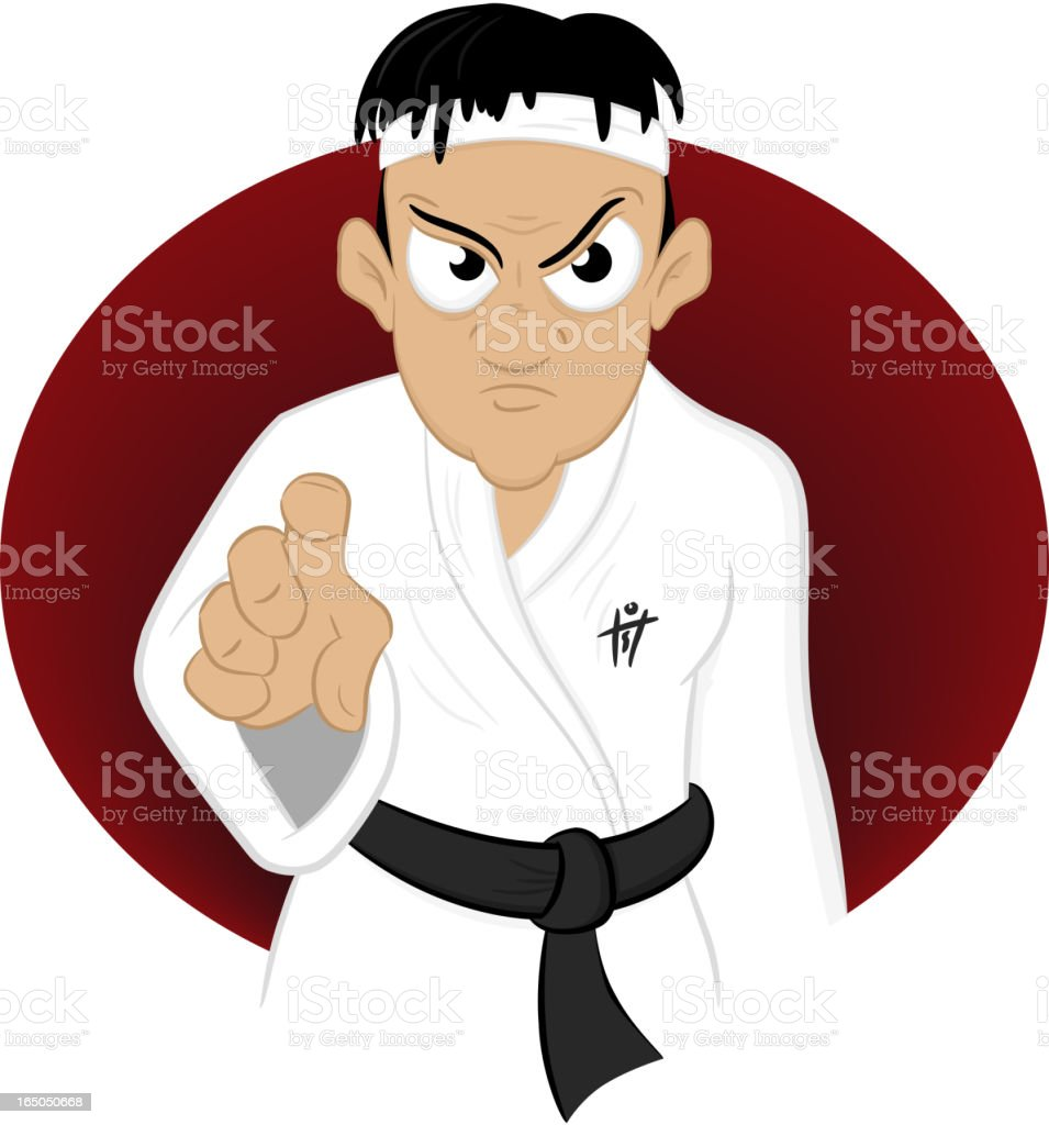 Maa Kung Fuuu is Better Than Yours royalty-free stock vector art