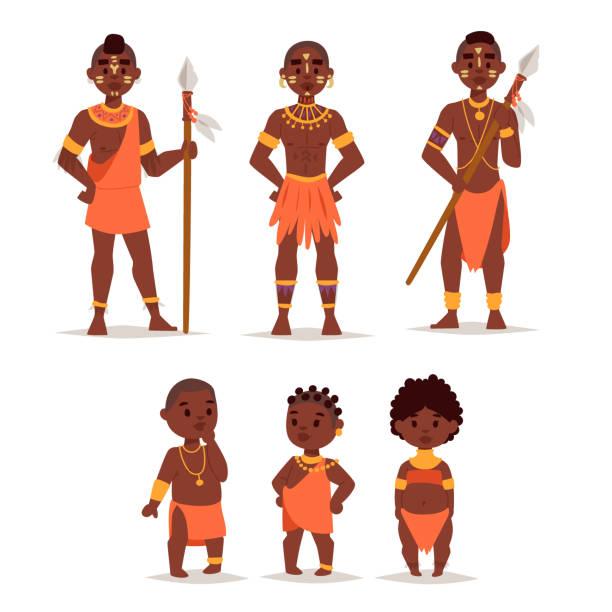 Royalty Free Masai Clip Art, Vector Images & Illustrations