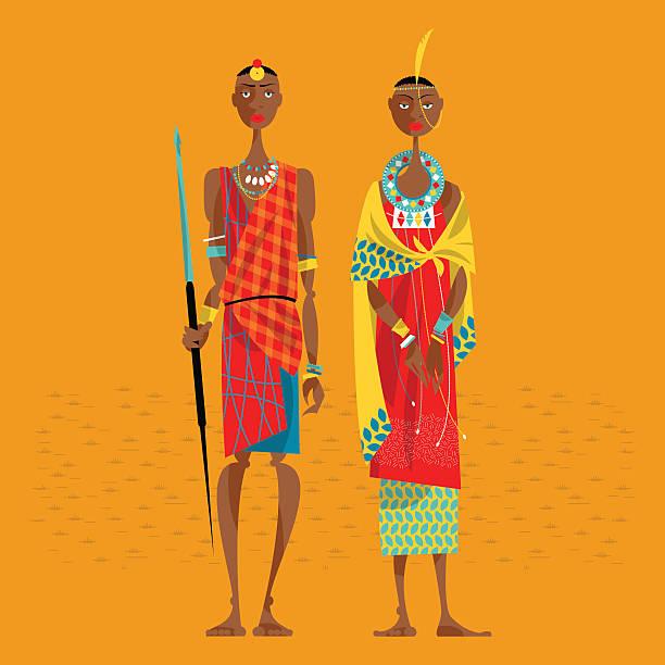 Best Maasai Illustrations, Royalty-Free Vector Graphics