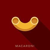 Macaroni Pasta Icon