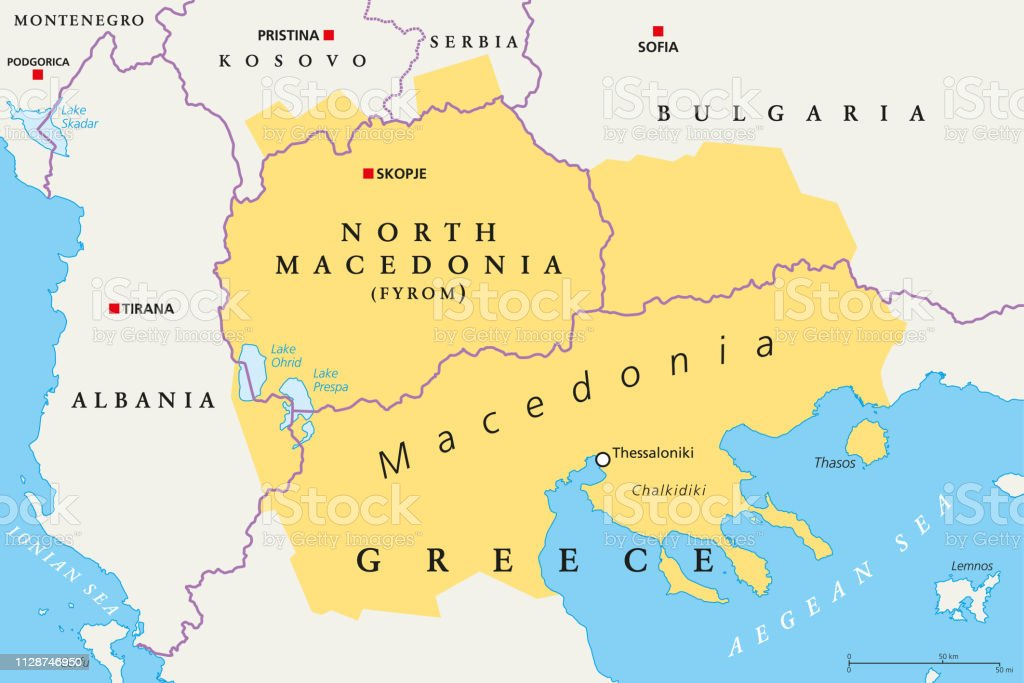 Macedonia Region Political Map Stock Illustration - Download ... on cyprus on map, isreal on map, asia minor on map, jordan on map, athens on map, gaul on map, malta on map, constantinople on map, persian empire on map, belarus on map, san marino on map, greece on map, carthage on map, romania on map, peloponnese on map, albania on map, crete on map, moldova on map, armenia on map, aegean sea on map,