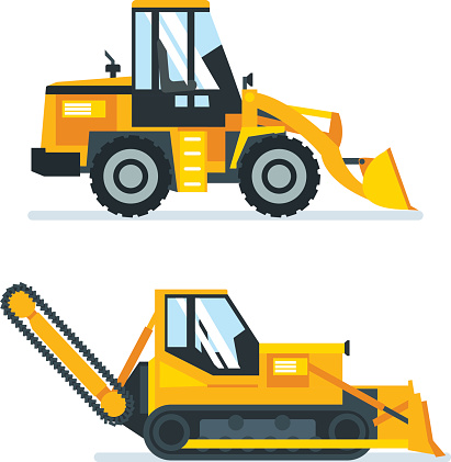 Machine for cutting, stacking of asphalt, trucks for cleaning areas