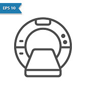 istock MRI Machine Icon 1224616263