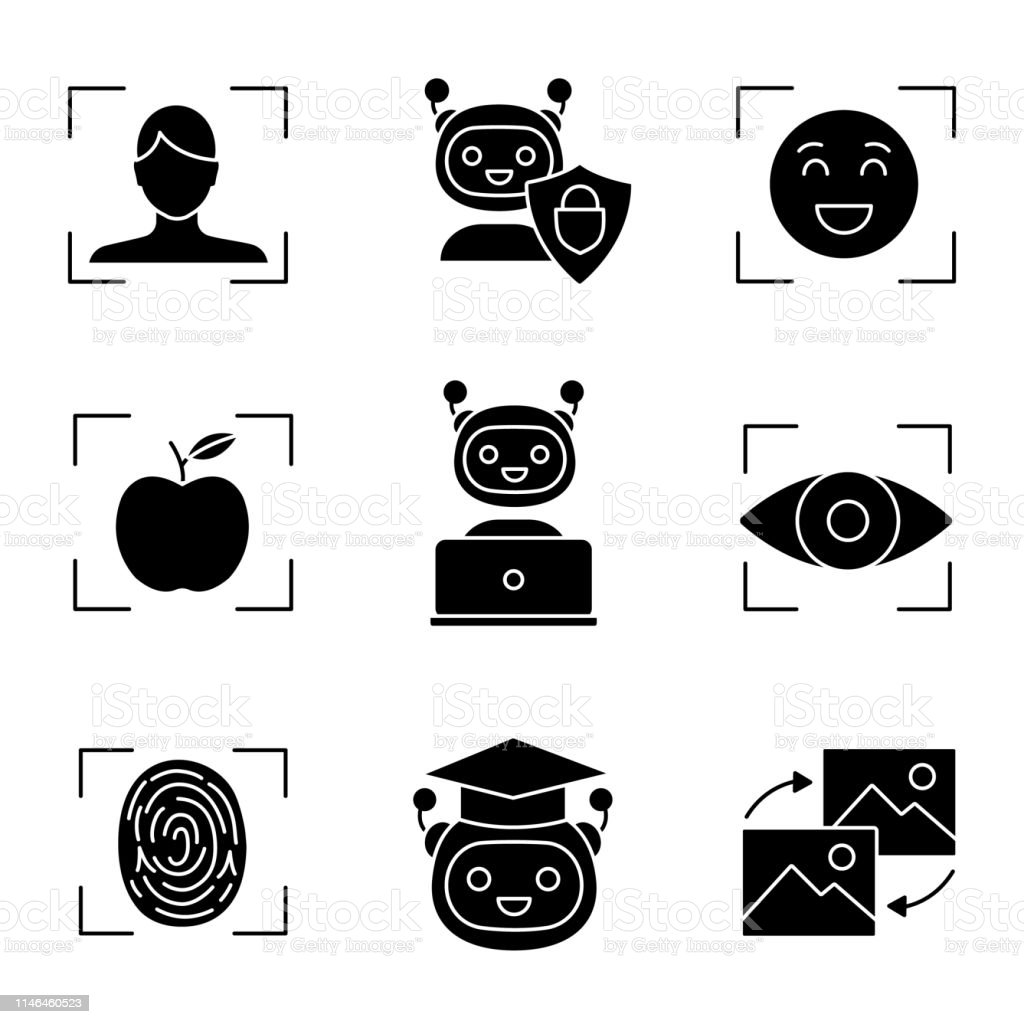 Machine Learning Icons Stock Illustration Download Image Now Istock