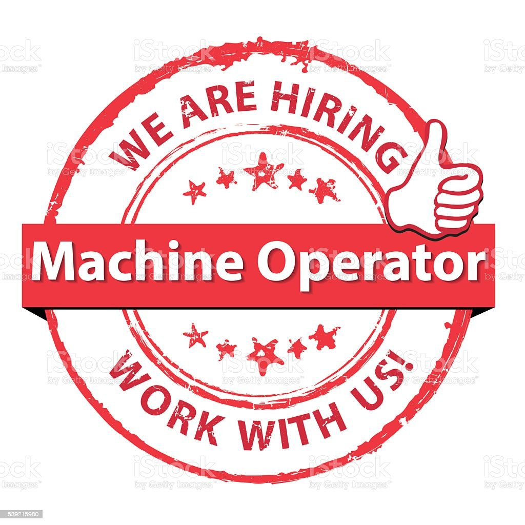Image result for hiring Machine Operator