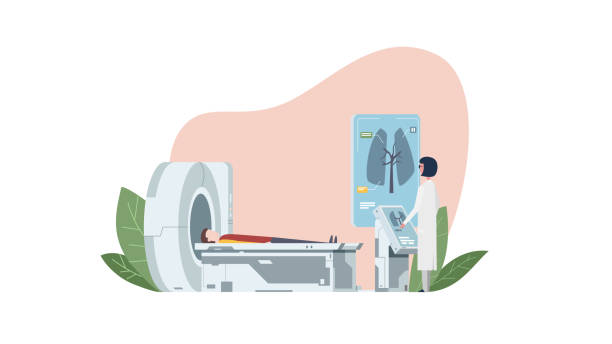 Best Ct Scanner Illustrations Royalty Free Vector