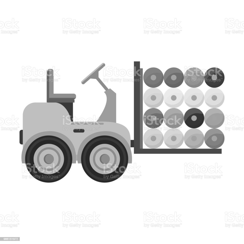 Machine, single icon in monochrome style.Machine vector symbol stock illustration web. - Векторная графика Векторная графика роялти-фри