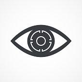 istock Machine Vision, Visual Recognition Icon 1249340521