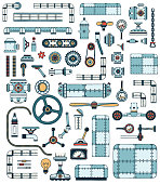 Machinery elements