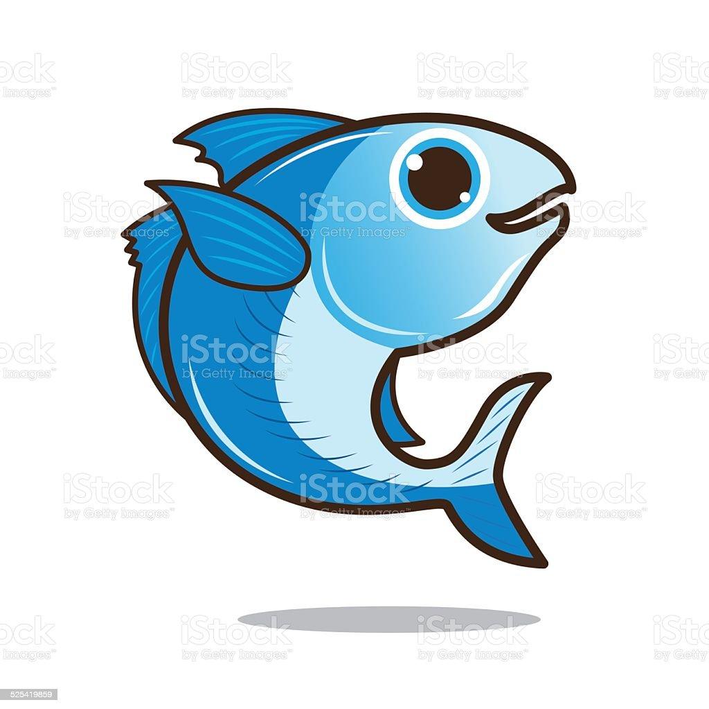 mackerel cute cartoon stock vector art 525419859 istock