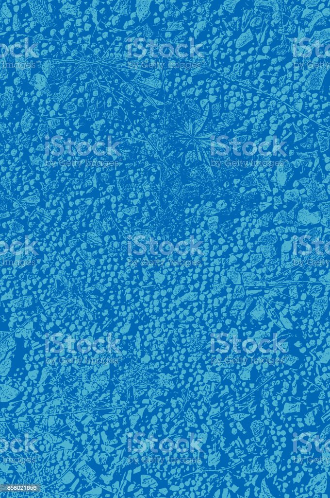 Macro view of a gravel path background vector art illustration
