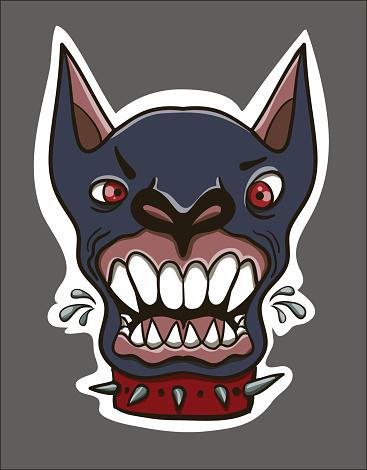 mad dog, print