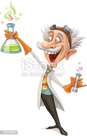 istock Mad Scientist 158789657