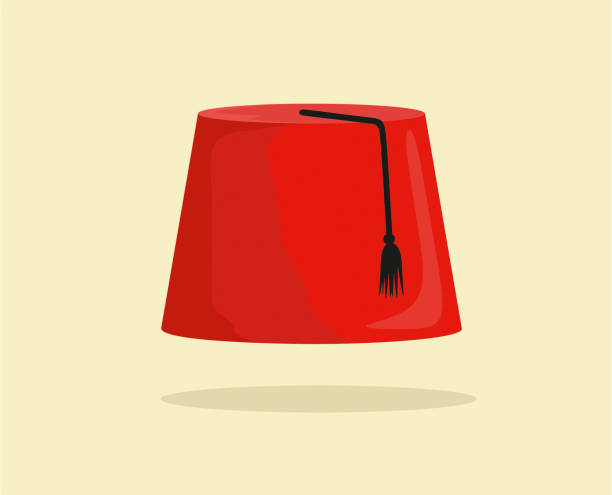 89 Fez Hat High Res Illustrations - Getty Images