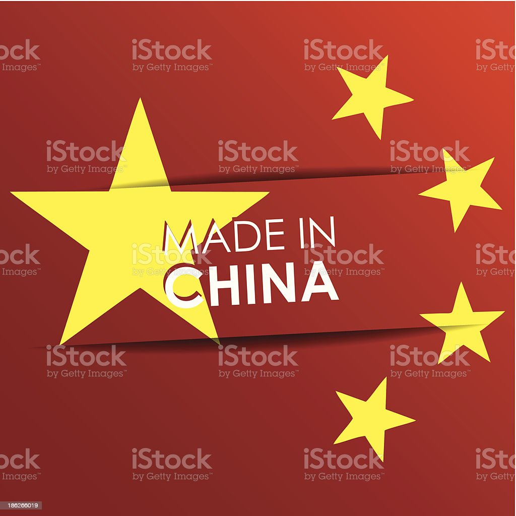 Made in China royalty-free made in china stock vector art & more images of abstract