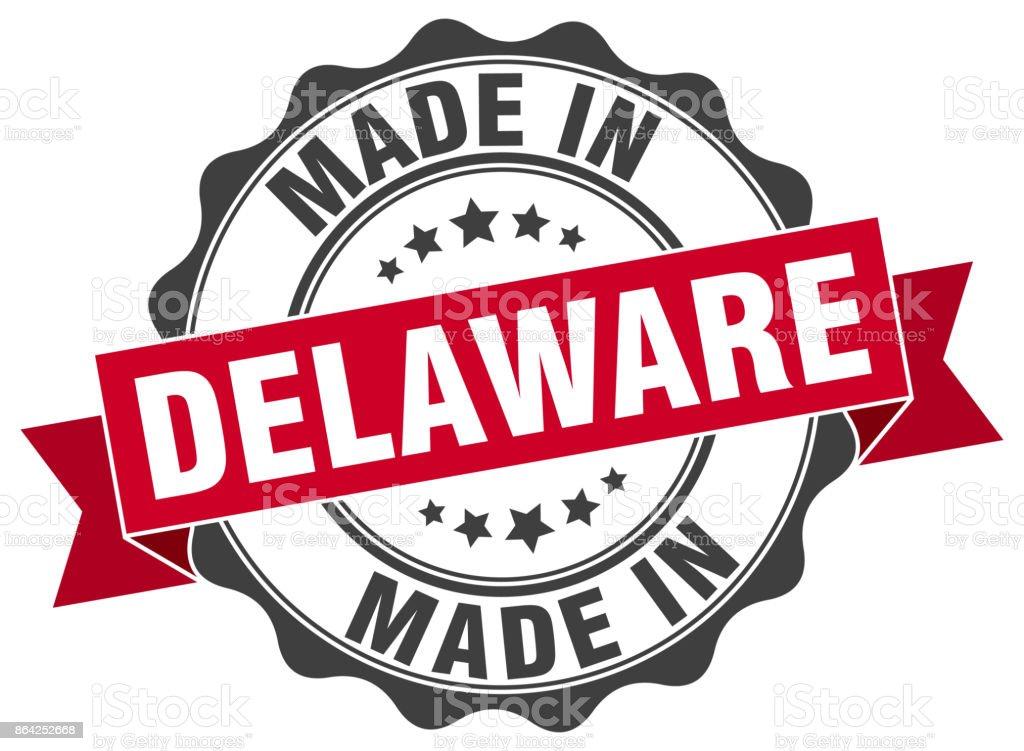 made in Delaware round seal royalty-free made in delaware round seal stock vector art & more images of award ribbon
