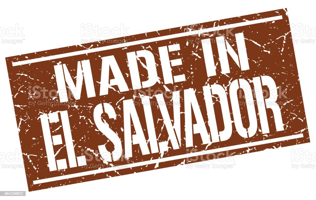 made in El Salvador stamp royalty-free made in el salvador stamp stock vector art & more images of abdication