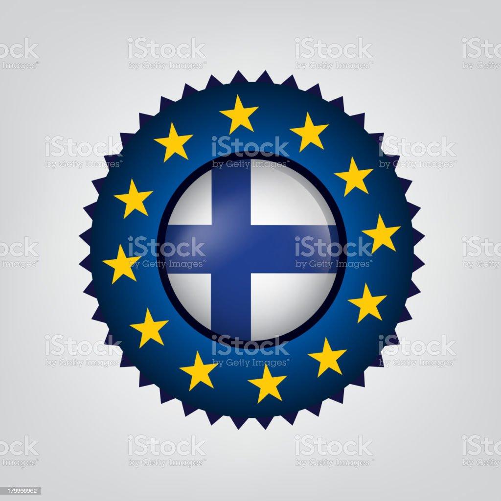 생산 핀란드에, 유럽 연합, 유럽 연합, 직인, 플랙, (벡터 royalty-free 생산 핀란드에 유럽 연합 유럽 연합 직인 플랙 벡터 고무도장에 대한 스톡 벡터 아트 및 기타 이미지