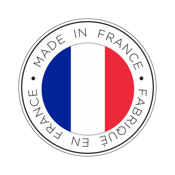 Made In France Vectoriels et illustrations libres de droits - iStock