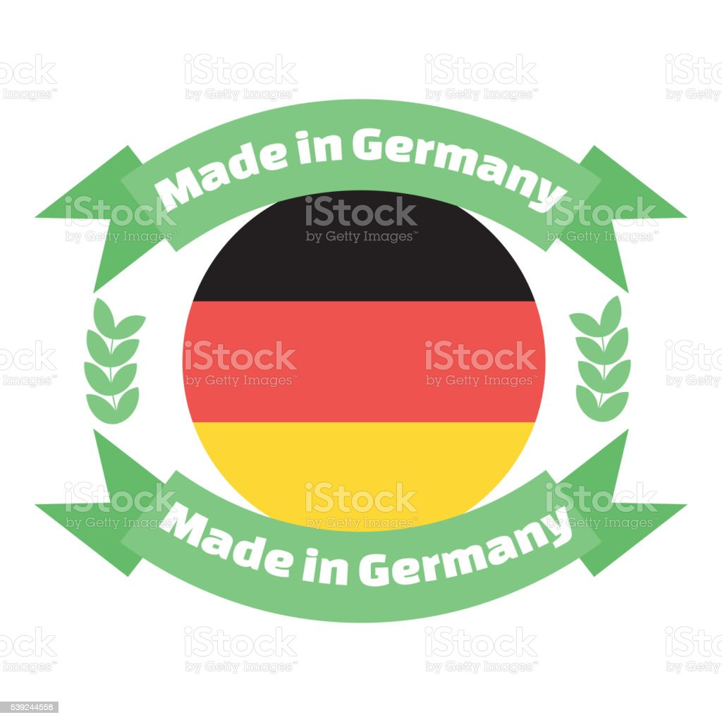 Made in Germany labels and badges. royalty-free made in germany labels and badges stock vector art & more images of badge