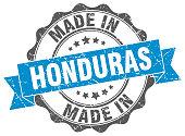 made in Honduras round seal
