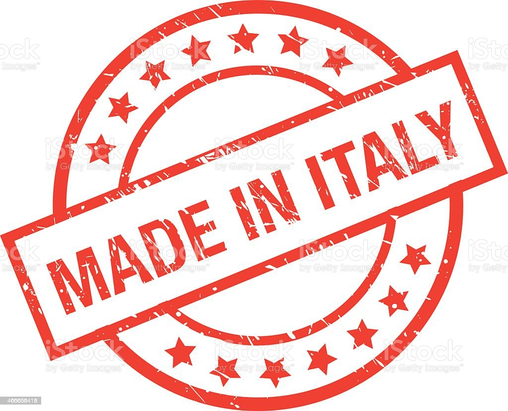 3e07839a11 made in italy rubber stamp royalty-free made in italy rubber stamp stock  vector art