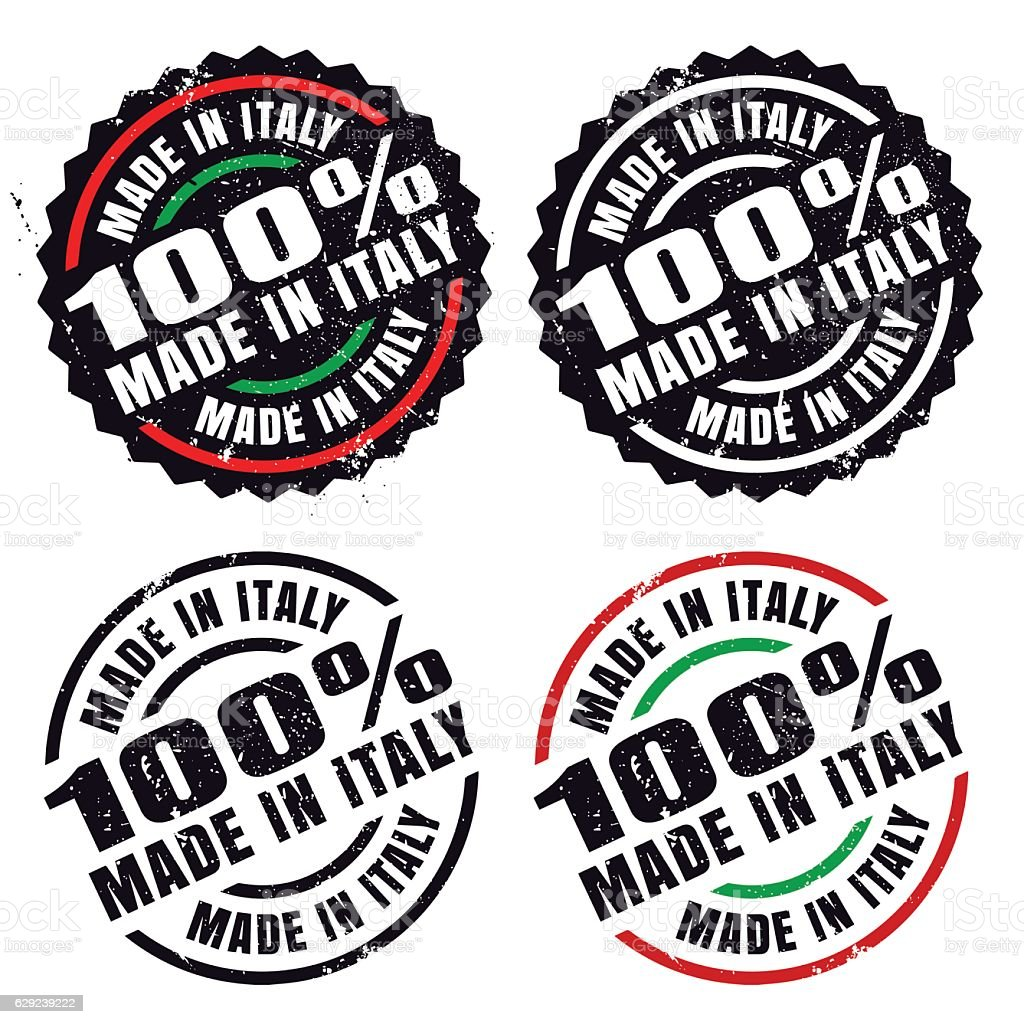 f6d8a0d359 Made In Italy Rubber Stamp Stock Vector Art   More Images of ...