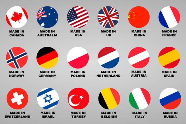 行われました。ラベル 18 国のフラグと設定 - ドイツの国旗点のイラスト素材/クリップアート素材/マンガ素材/アイコン素材
