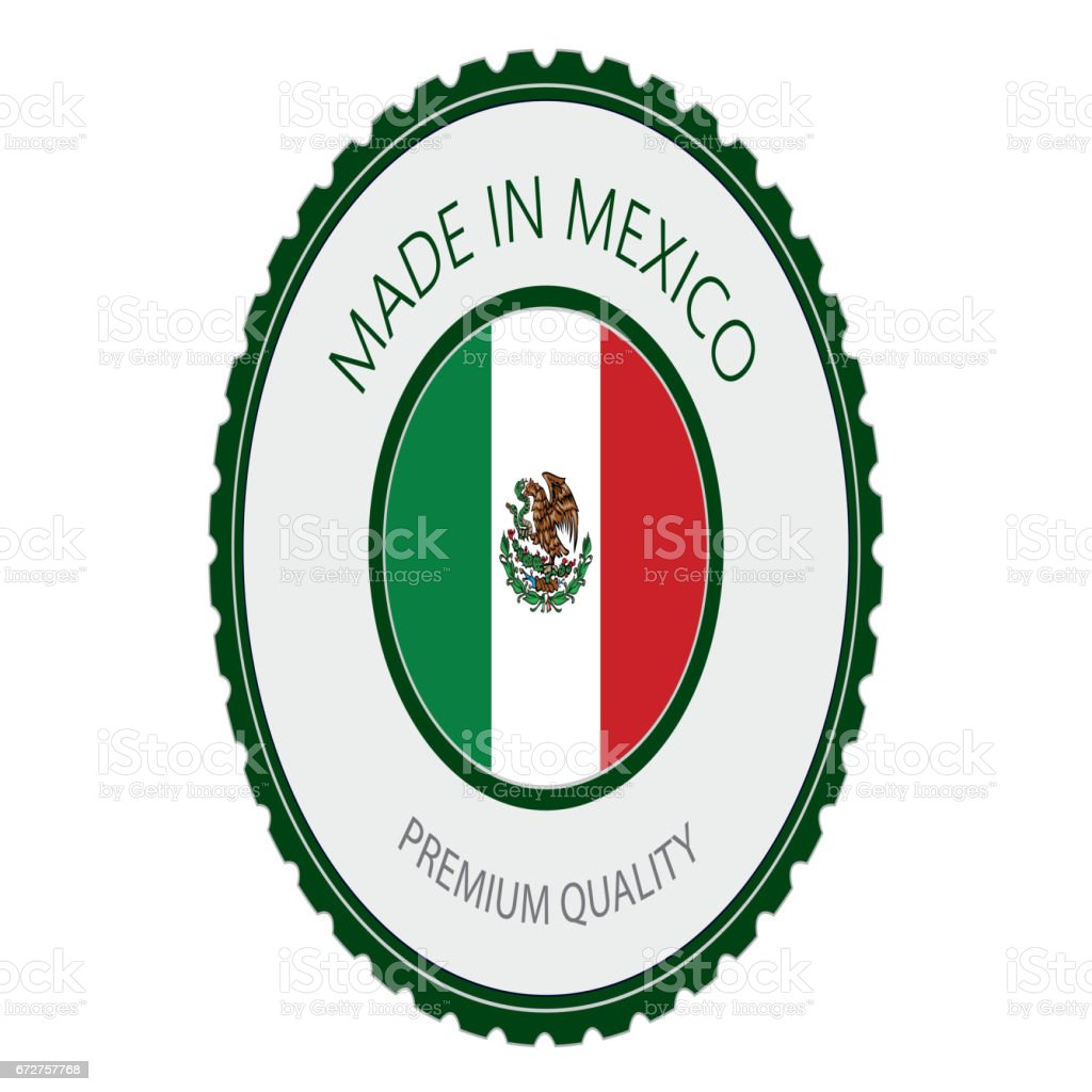 made in mexico seal mexican flag stock vector art more images of rh istockphoto com made in mexico logo shirt premium tequila made in jalisco mexico logo