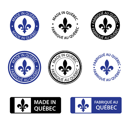Made in Quebec stamps