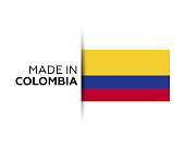 Colombia, Country - Geographic Area, Backgrounds, Badge, Business